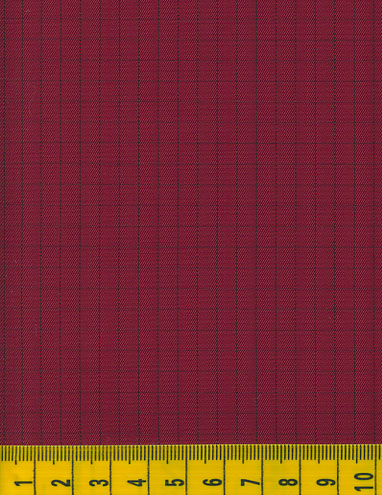 Antistatic Burgundy Fabric