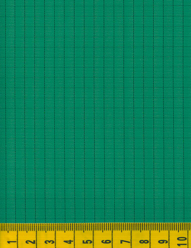 Antistatic Kelly Green Fabric