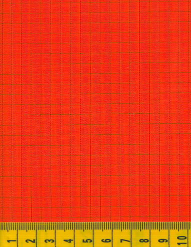 Antistatic Orange Fabric