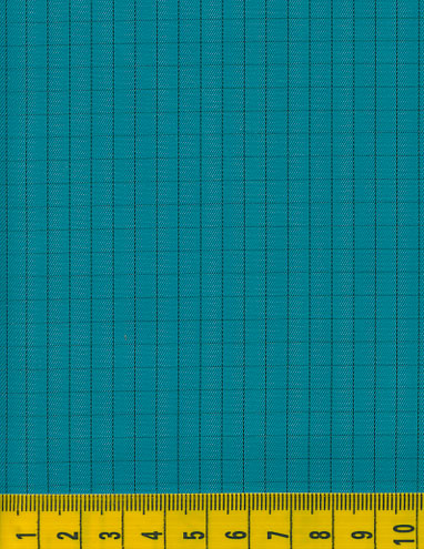 Antistatic Teal Fabric
