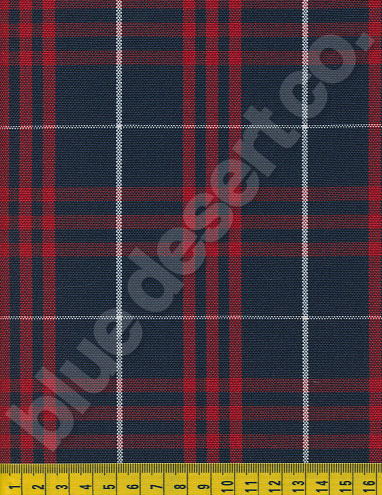 Plaid Fabric 576