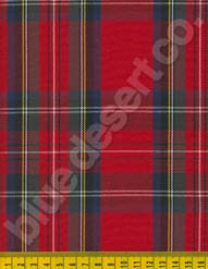 Plaid Fabric 605